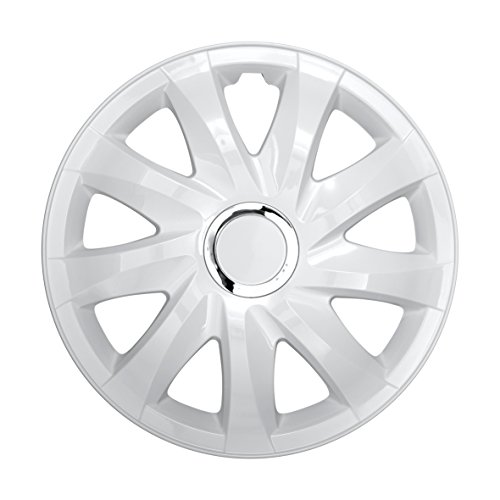 NRM Universal Wheel Trims DRIFT White 15
