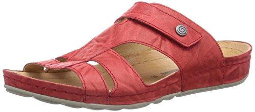 Dr. Brinkmann 700822, Chaussures de Claquettes femme Rouge - Rouge