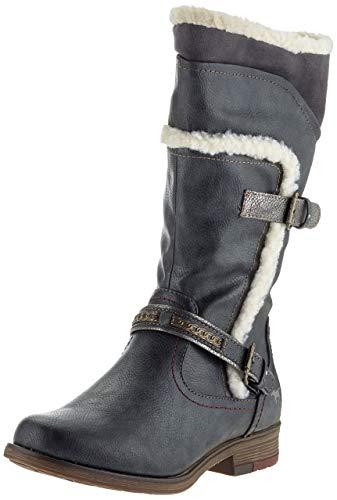 Mustang Damen 1295-605-259 Hohe Stiefel, Grau (Graphit 259), 38 EU