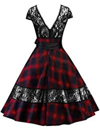 Suchergebnis auf Amazon.de für  Rockabilly - Baumwolle  Bekleidung b859aa5f8a