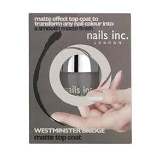 Nails Inc Westminster Bridge Matte Effect Top Coat 10 ml