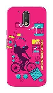 MTV Gone Case Mobile Cover for Motorola Moto G4 Plus