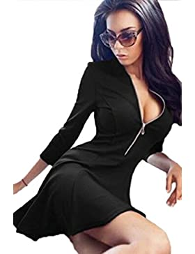 Le Donne Eleganti Zip Aperta D