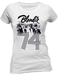 Blondie Since 74 Official T-shirt (White)