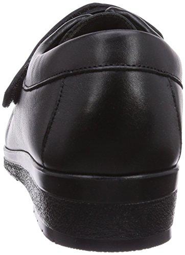 Fischer Damen Bequem-Schuh, Scarpa da donna Nero (Schwarz  (schwarz 222))