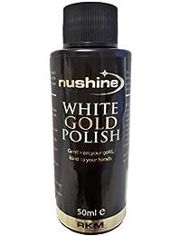 Nushine blanco oro polaco 1.7oz–respetuosa con el medio ambiente formulación