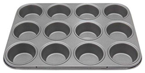12 Cup Muffin Tin - Teflon Long ...