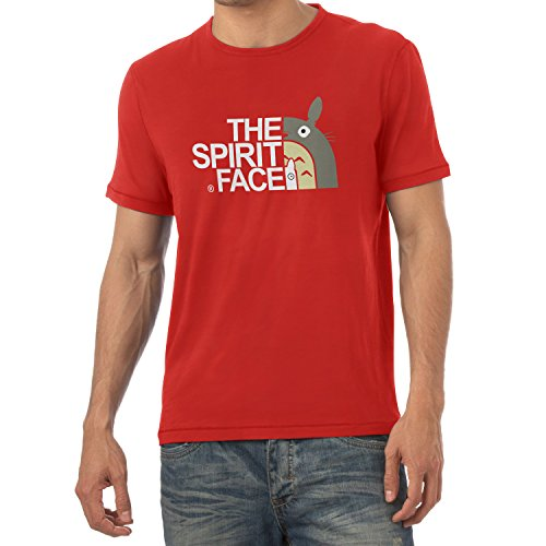 TEXLAB - The Spirit Face - Herren T-Shirt Rot