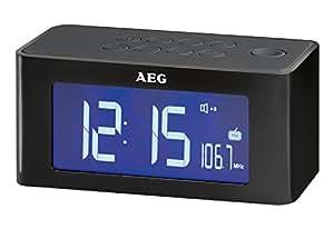 AEG MRC 4140 I technologie d'induction Uhrenradio noir