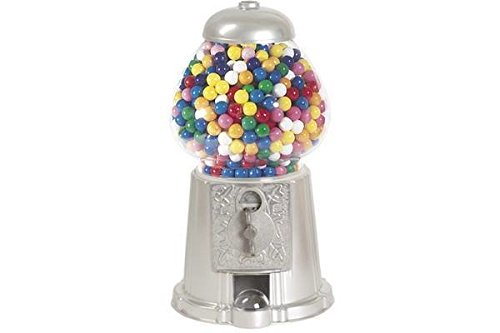 StealStreet ss-cqg-gm0015-slv 38,1cm Silber Farbe Home Decor Spielzeug Zubehör Display Gumball Maschine - Gumball Maschinen