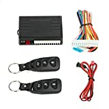 Thboxes Universal Car Alarm Central Locking Remote Central Lock Keyless Entry System Power Window Switch Alarm for Car