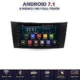ANDROID 7.1 Allwinner T3 GPS USB WI-FI DAB+ MirrorLink Bluetooth autoradio navigatore Mercedes classe E W211 Mercedes classe G W463 Mercedes classe CLK W209 classe CLS W219/E200/E220/E240