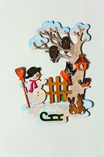 kuhnert-hobaku-15-x-22-cm-do-it-yourself-kit-de-decoration-de-fenetre-dhiver