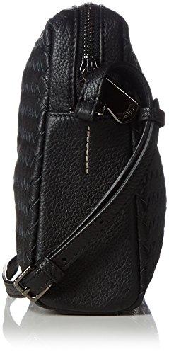 Cinque - Cosma Handtasche Mit Rv, Borsa con Maniglia Donna Nero (Schwarz (schwarz 9000 9000))