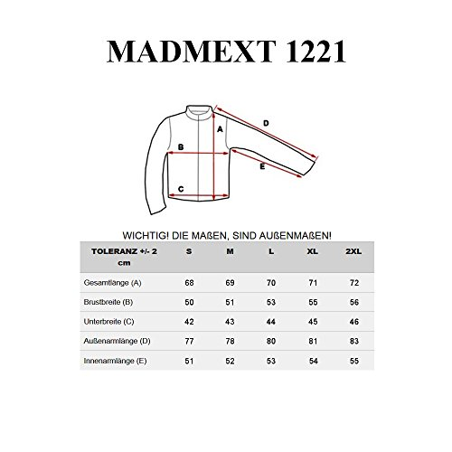 BOLF Herrenpullover Sweatshirt Sweatjacke Langarm Pullover MADMEXT 1226 Schwarz_1221