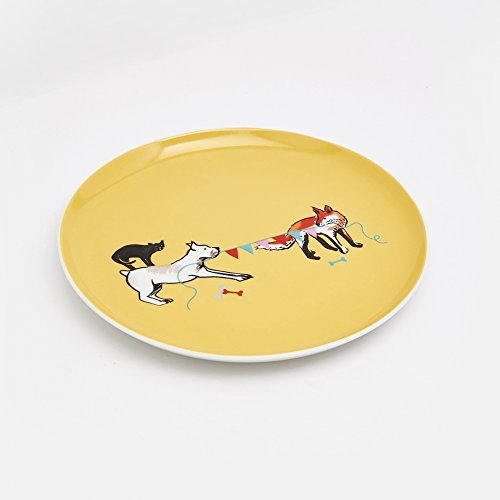 Joules piatto di joules teaplate in porcellana lato (y) tug of war one size