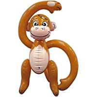 MunchieMoosKids Inflatable Monkey 61cm Party Accessory