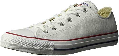 Converse Unisex-adult Chuck Taylor All Star Core Ox Trainers, Bianco (Blanc), 4.5 Uk