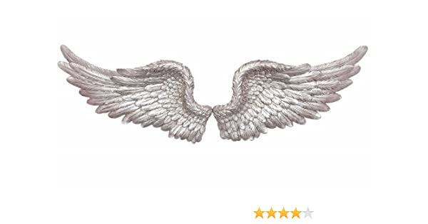 IHL Large Antique Gold Angel Wings Decorative Chic Wall Mounted Hanging Art 104cm