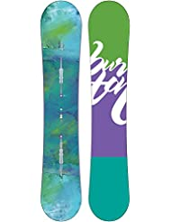 Burton Snowboard Feather - Tabla de freestyle para snowboarding, talla 152