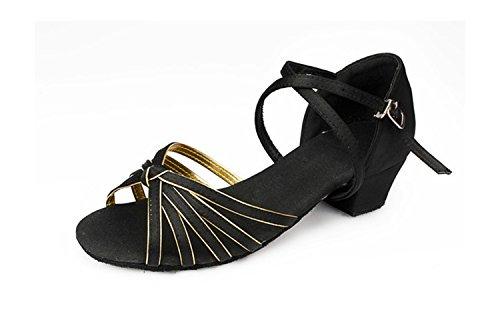 Miyoopark , Salle de bal femme Black/Gold-3.5cm Heel