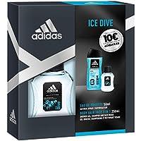 Adidas Ice Dive Set Hombre Duplo Edt 50 + Gel 250