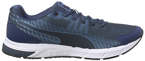 Puma Sequence V2, Chaussures de course homme Bleu - Blau (blue wing teal-puma silver-blue heaven 04)