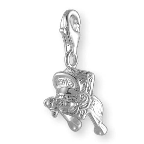 Melina Damen-Charm Anhänger Sattel 925 Sterling Silber 1801308