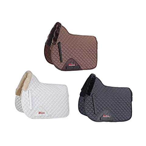 Shires Performance Full Size Supafleece Saddle Cloth: Brown