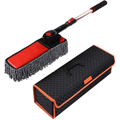 Auto Mop Spazzata Polvere Rimozione Speciale Spazzola per autolavaggio Pennello per olio Polvere Forniture per auto Artifact di pulizia