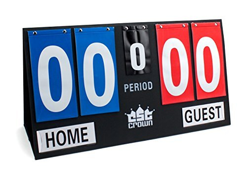 Deluxe Portable Scoreboard, Large by Crown Sporting Goods ()