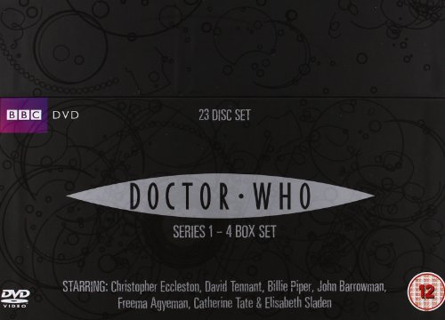 Doctor Who - Complete Series 1-4 Box Set [23 DVDs] [UK Import]