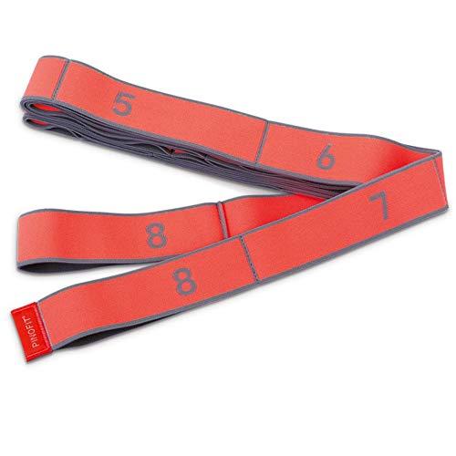 PINOFIT Stretch Band XL - Extralanges Gymnastikband mit Schlaufen - Widerstandsband - Fitnessband - Therapieband - Stretch Loop