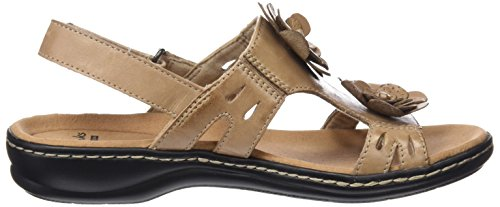 Clarks Damen Leisa Claytin Slingback Beige (Sand Leather)