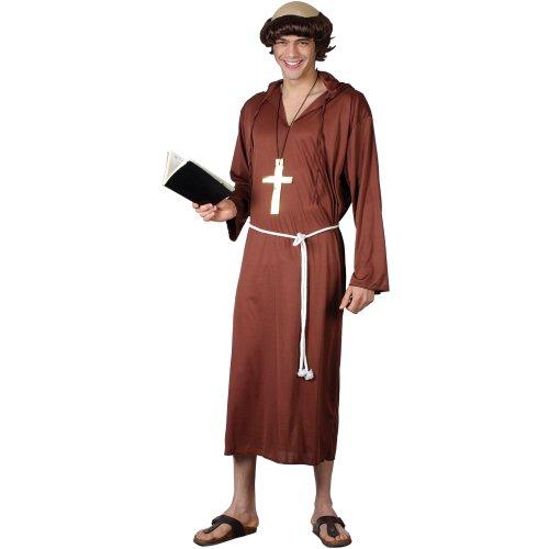 Monk of the Abbey (L) Man Fancy Dress Religious ()