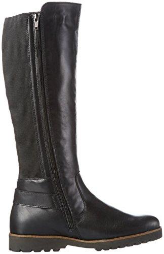 Remonte D0180, Stivali da Equitazione Donna Nero (Schwarz/schwarz/schwarz)