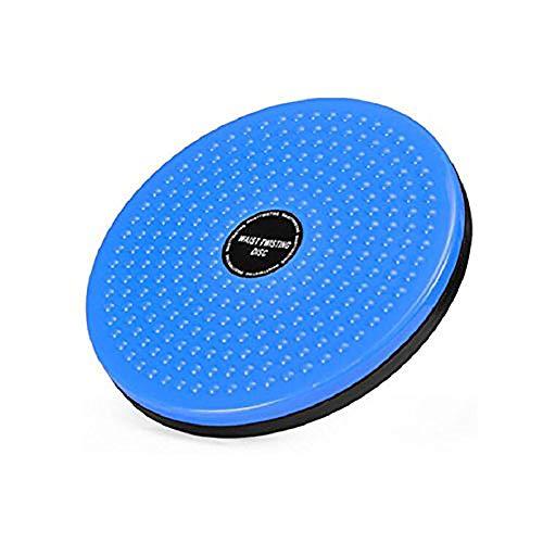 Ms. FL Home Fitness Twist Taillen Maschine Torsion Plate Große Taillen Platte Damen Dünne Taille Fitness-Geräte Reduzieren Gewichtsbilanz Disc Taille Twist Gerät [Blau] -