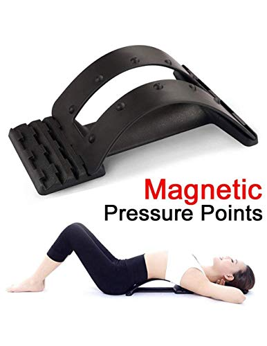 G-smart Lendenwirbelstütze / Rückendehner / Streckgerät / Massagegerät für die Wirbelsäule, lindert Rückenschmerzen, mindert Druck - Für Rückenschmerzen Gerät