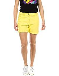 Carrera Jeans - Bermuda 757 pour Femme, Couleur Unie, Tissu Bull Denim,  Taille e51cc000013d