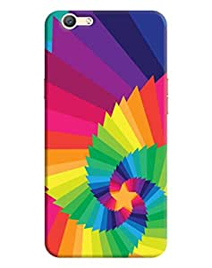Back Cover for Oppo F1s By FurnishFantasy