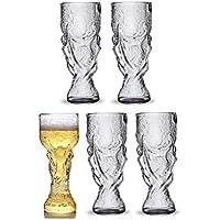 2X Jarra De Cerveza Cristal Trofeo Forma De Vidrio Vidrios De Vino Personalizados Jarras De Cerveza Copa Mundial 2018 Jarra De Cerveza Orgía Botella De ...
