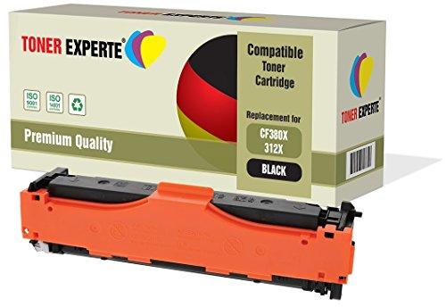 TONER EXPERTE® CF380X 312X Nero Toner compatibile per HP Colour LaserJet Pro MFP M476DN, M476DW, M476NW