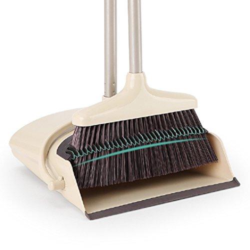 Mehrzweck-Besen und Kehrblech Set mit Kämmen für die Haarentfernung für Büro und Hausgebrauch