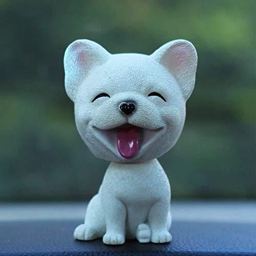 GBYJ Dekoration Nette Kopfschütteln Simulation Hund Auto Dekoration Auto High-End-Männer und Frauen Schmuck Auto Dekoration liefert kreative Puppe