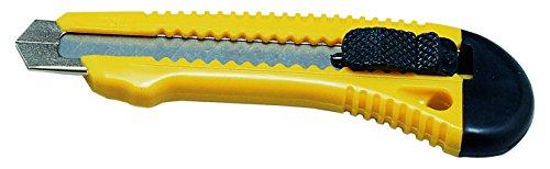 Viva 032 Cutter con Lama da 100 mm x 18, Guida in Metallo, Struttura in Plastica con Blocca Lama