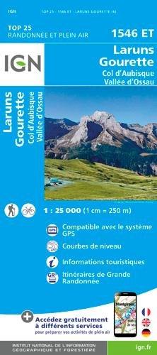 Laruns / Gourette / Col d'Aubisque / Vallée d'Ossau gps