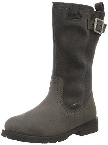 Superfit Heel, Bottes et bottines à doublure chaude fille Gris - Grau (STONE KOMBI 06)
