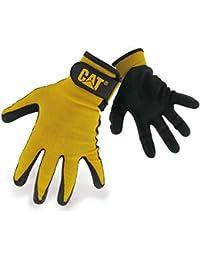 Caterpillar 17416 Mens Nitrile enduits gants coquille en Nylon | Black