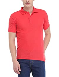 Trendy Trotters Fuschia Polo Cotton T-Shirt