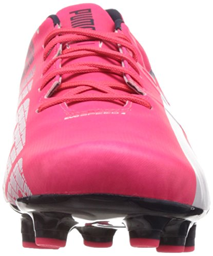Puma Evospeed 4-3 Fg, Chaussures de football homme Rose (Plasma/White/Peacoat)